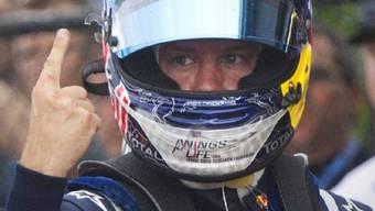 Sebastian Vettel erneut Schnellster im Qualifying
