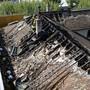 Der Dachstock des Museums in Carouge wurde von den Flammen zerstört.