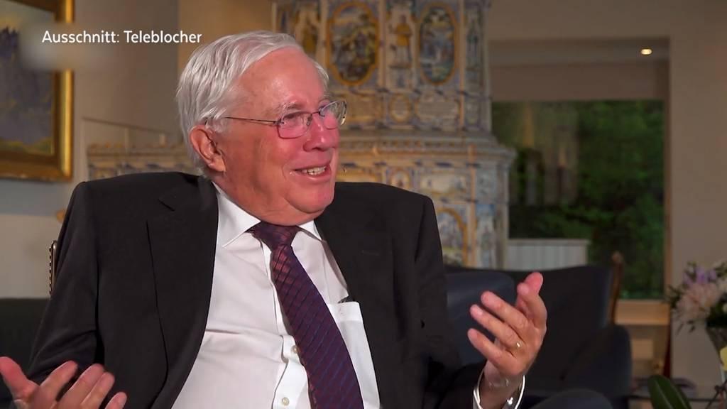 Blocher-Schelte für SVP-Leitung im Fall Roth