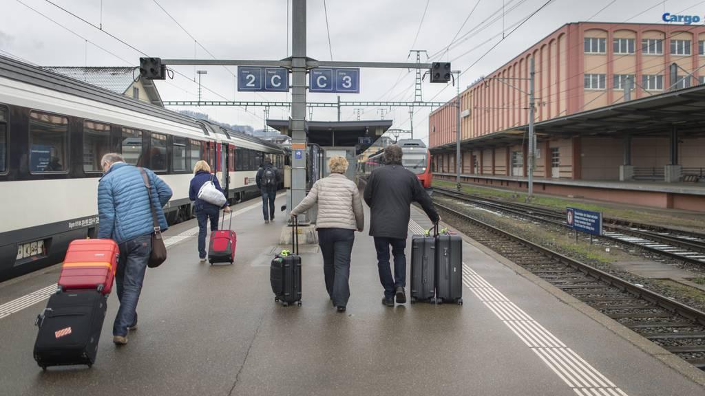 Bundesgelder für den Ostschweizer Bahnausbau