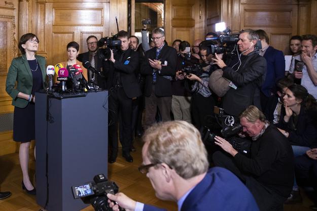 Regula Rytz, Bundesratskandidatin vom 10. Dezember 2019.
