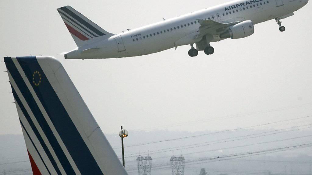 Air France sieht sich insgesamt auf Kurs, doch die Attentate verursachten Rückschläge (Symbolbild).