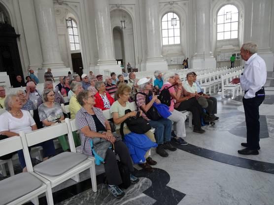Führung durch den hellen Dom von St. Blasien mit der grössten Kuppel nördlich der Alpen