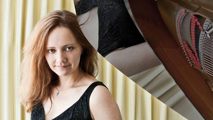 Varvara Nepomnyashchaya spielt im Festsaal Mozart.