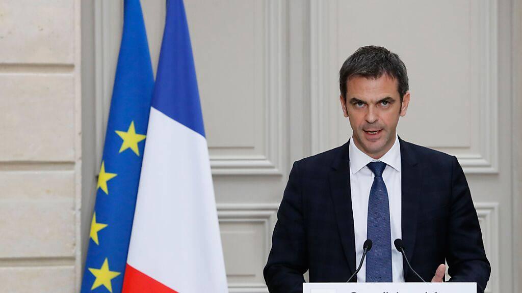 ARCHIV - Olivier Veran, Gesundheits- und Solidaritätsminister von Frankreich. Foto: Francois Guillot/AFP/dpa