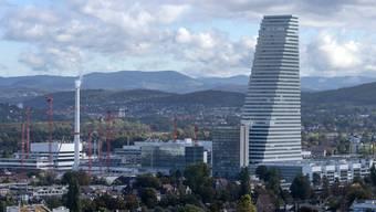 Hoch hinaus: Roche erweitert seinen Basler Hauptsitz mit neuen Gebäuden.
