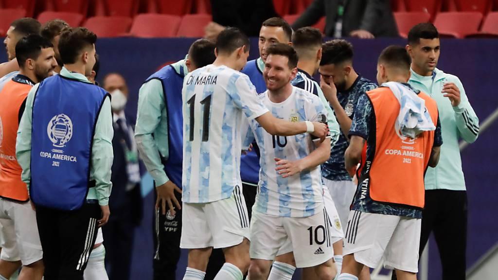 Argentinien folgt Brasilien in den Final