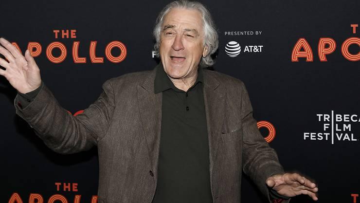 Der US-Schauspieler Robert De Niro wird in einem neuen Film einen Häftling spielen. (Archivbild)