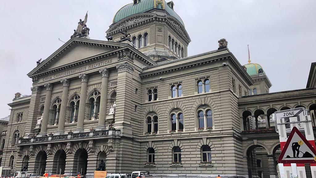 Granitpoller sollen Bundeshaus vor Terroranschlägen schützen