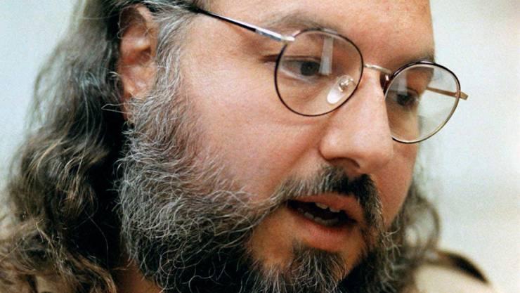 Der israelische Spion Jonathan Pollard auf einer Aufnahme von 1998. Die USA sollen ihn im November freilassen. (Archiv)