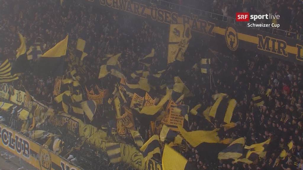 YB oben, FC Thun am Boden