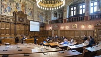 Jünger und weiblicher ist das neugewählte Basler Parlament, das im Februar im Grossratssaal im Rathaus seine Arbeit aufnimmt.