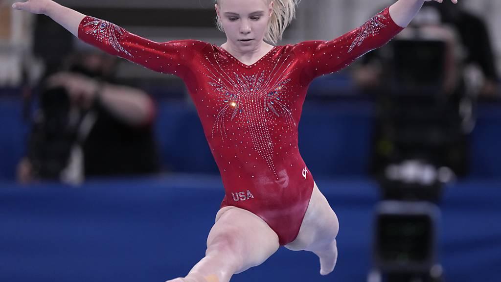 Jade Carey springt für Biles in die Bresche