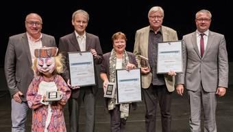 Anerkennungspreis Starke Region für die Basler Fasnacht