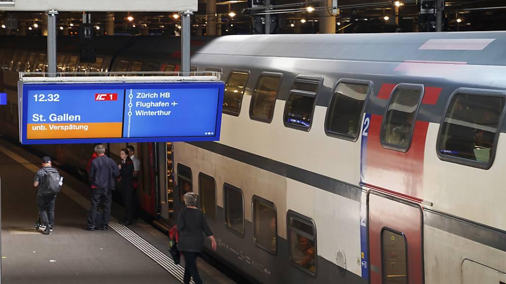 ÖV-Passagiere bekommen bei grossen Verspätungen Geld zurück