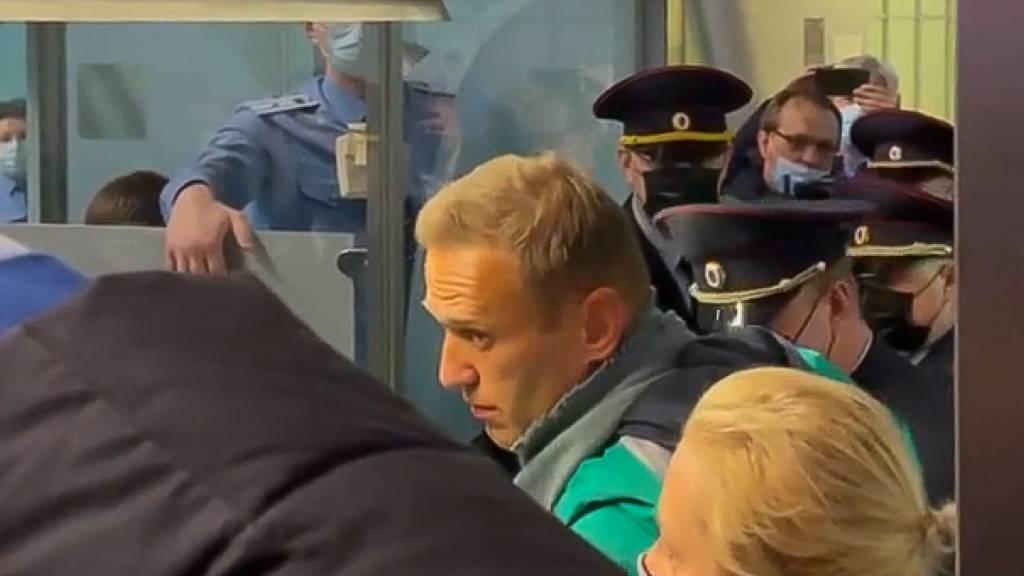 Kremlgegner Nawalny nach Rückkehr verhaftet