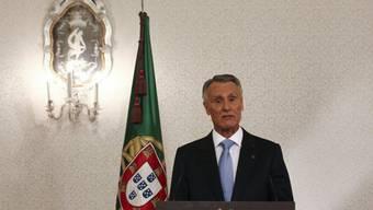 Ansprache von Portugals Präsident Anibal Cavaco Silva