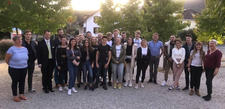 Die Jungbürgerfeier 2019 hiess 'World Café mit Apéro'.