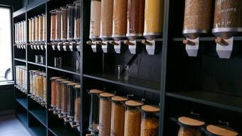 Sieht es in den Migros-Filialen dereinst auch so aus, wie hier im Zero-Waste-Laden «Foifi» in Zürich?