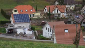Solardach an der Mahrenstrasse in Lostorf