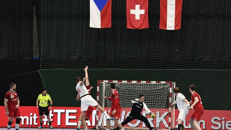 Die Partie zwischen Schweiz und Tschechien war lange umkämpft.