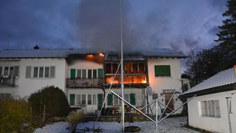 Brand in Trimbach 13.Januar 2021