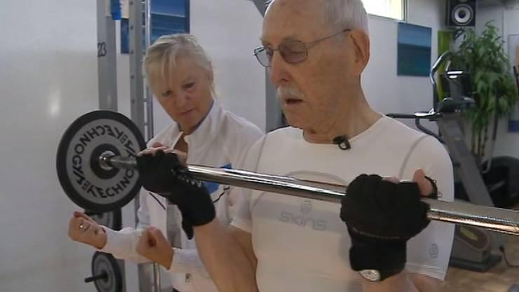 Charles Eugster ist 95 Jahre alt, aber noch so fit wie ein Teenager.