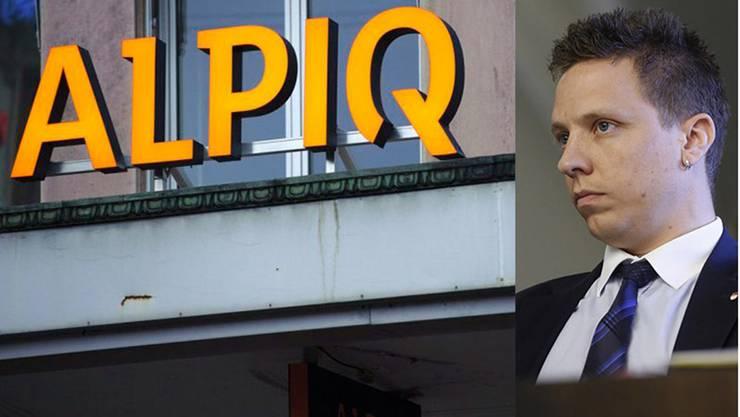 Christian Imark stellte Fragen zur Alpiq.