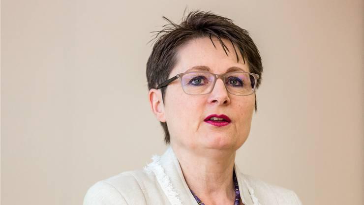 SVP-Regierungsrätin Franziska Roth.