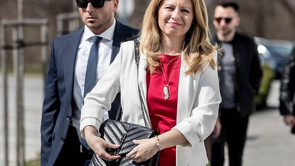 Erste Frau an der Spitze der Slowakei: Die liberale Bürgeranwältin Zuzana Caputova.