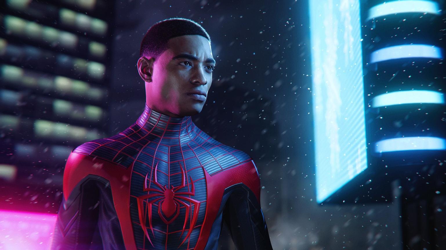 Spider-Man - Miles Morales - Titelbild