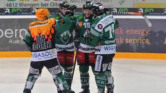 Die Powermäuse jubeln in Rapperswil über den vierten Sieg in Serie.