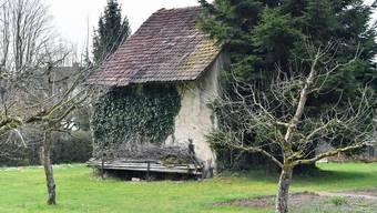 Steinspeicher wie hier in Lostorf sind im unteren Kantonsteil selten geworden.