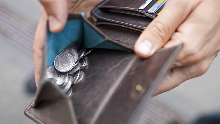Der Mann wollte zwei Franken. (Symbolbild)