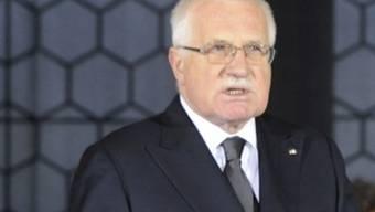 Der tschechische Staatspräsident Vaclav Klaus wurde noch vom Senat gewählt (Archiv)
