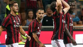 Aufkäufe von Sportclubs wie jüngst des Fussballclubs AC Milan sind der chinesischen Führung ein Dorn im Auge: Nun will sie solche Investitionen beschränken. (Archiv)