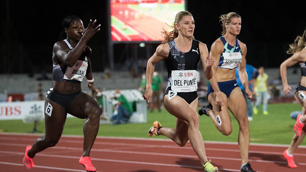 Del Ponte im Duell gegen die Olympiasiegerin