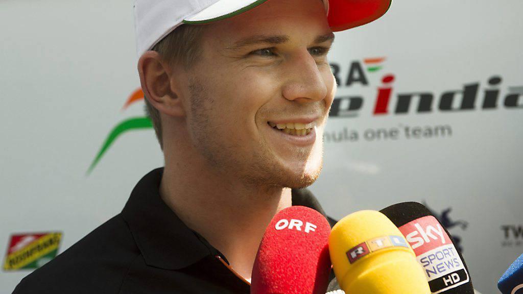 Nico Hülkenberg ist schneller als erwartet zurück in der Formel 1