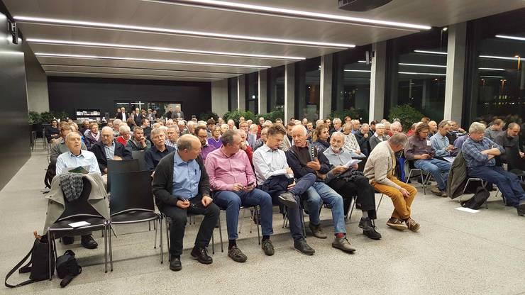 180 Gäste durfte Hans-Karl Scherrer, CEO Eniwa AG in Buchs zum Energie-Apéro begrüssen. Ein Rekord!