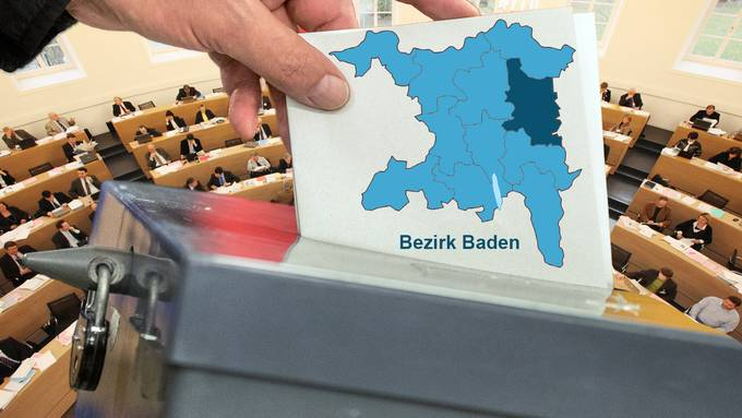 Wahlen Bezirk Baden