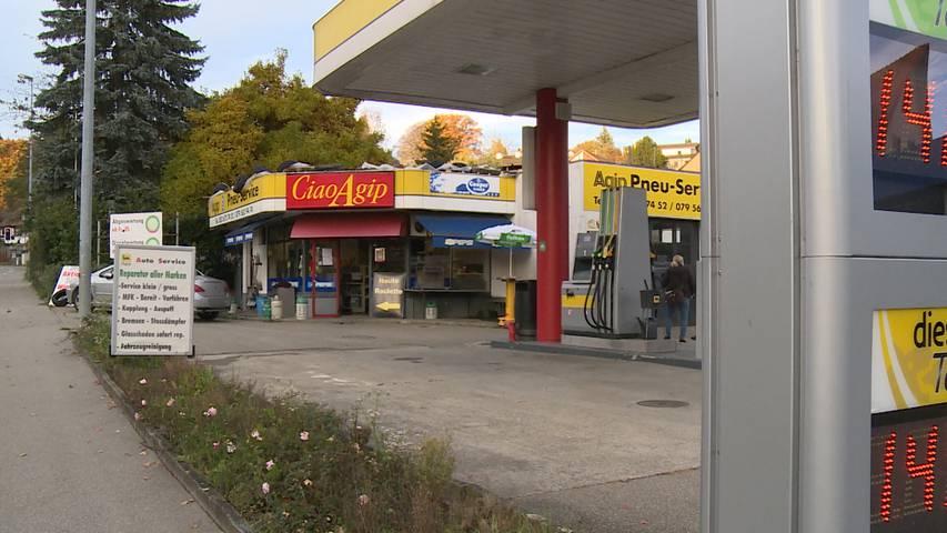 Neuhausen am Rheinfall (SH): Schwerverletzter nach Tankstellen-Schlägerei