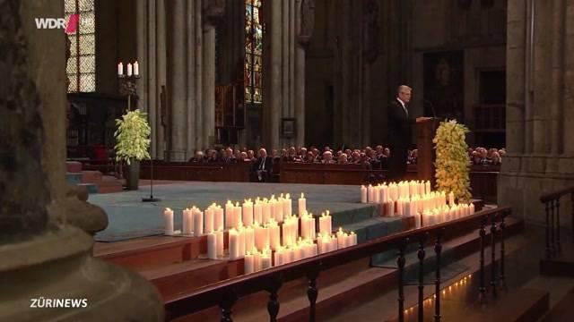 Trauerfeier für die Opfer der Germanwings-Katastrophe