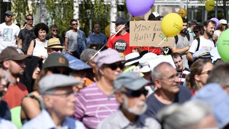 Am «Marsch fürs Läbe» war es letztes Jahr zu Störmanövern gewaltbereiter Gruppen gekommen.