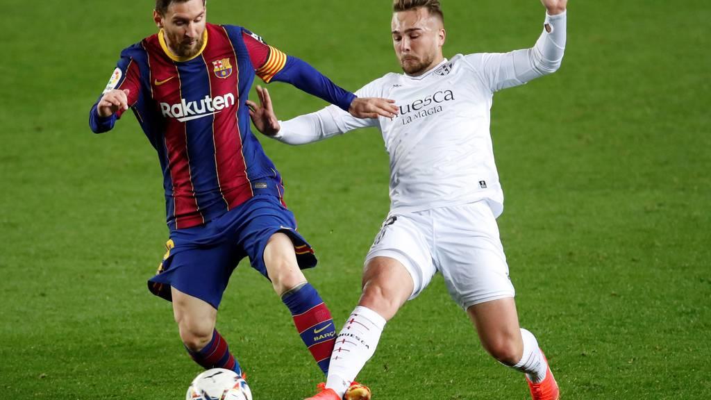 Rekord und zwei Tore von Messi