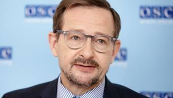 OSZE-Generalsekretär Thomas Greminger ist frustriert über seine Nichtwiederwahl.