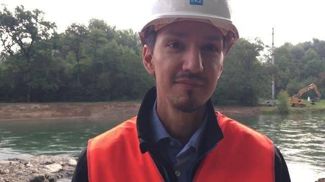 Alfredo Scherngell, Leiter Wasserbau bei den EKZ, sagt, welche Renaturierungsmassnahme ihn am meisten freut