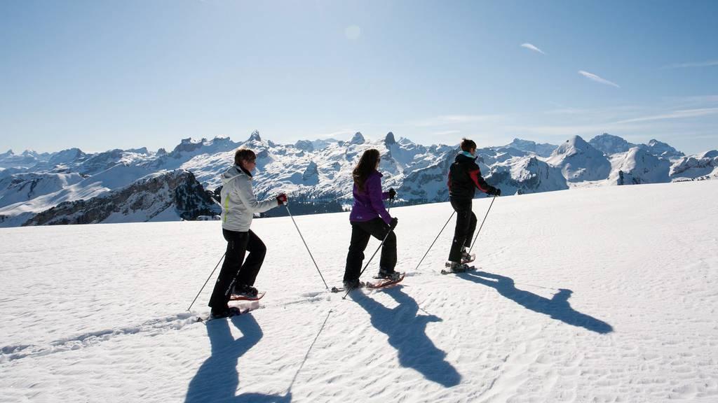 Freizeittipp: Schneeschuhlaufen mit der ganzen Familie