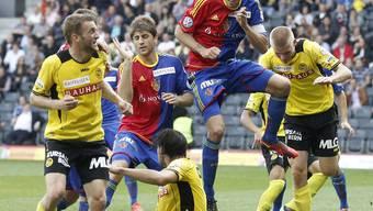 Basel und YB trennen sich 1:1