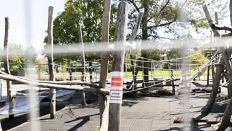 Wann der Spielplatz abgerissen und der neue aufgebaut werden kann, ist aber noch unklar.