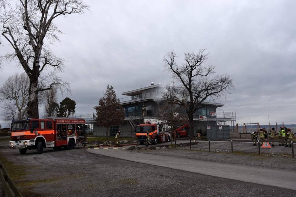 Brand Altenrhein (© Kapo SG)